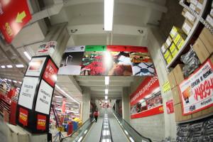 Saviv, avisos, material P.O.P, señalización y mobiliario para cambio de imagen y expansión de marcas